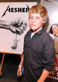 Devin Brochu at the Australians In  screening of