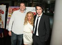 Josh Emerson, Hayden Panettiere and Jack Carpenter at the screening of