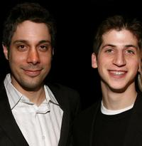 Director Brian Hecker and Steven J. Kaplan at the after party of