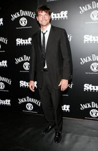 Jerry O'Connell at the Stuff Magazine & Jack Daniels Kentucky Derby party.