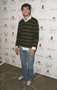 Jerry O'Connell at the launch of Jaime Presslys' Spring/Summer 07 clothing line.
