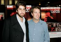 Chris O'Donnell and Adam Goldberg at the Los Angeles premiere of
