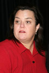 Rosie O'Donnell at the New York opening night of