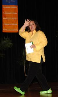 Rosie O'Donnell at the New York Sunday Book and Author Breakfast at the Book Expo.