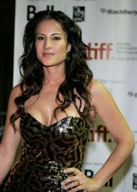 America Olivo at the screening of