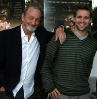 Robert Englund and Trevor Matthews  at the California premiere of