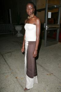 Danai Gurira at the world premiere of