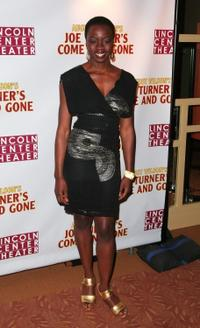 Danai Gurira at the opening night party for