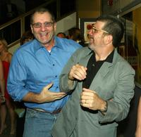 Ed O'Neill and David Mamet at the world screening of