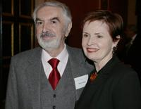 Milo O'Shea and his wife Kitty O'Shea at the Irish America Magazine 19th Annual Top 100 Gala.
