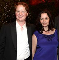 Christopher Carley and Geraldine Hughes at the world premiere of