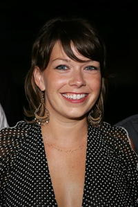 Mary Elizabeth Ellis at the Season Four premiere screening of