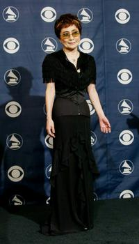 Yoko Ono at the 46th Annual Grammy Awards.