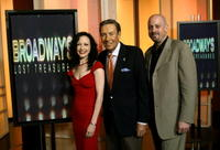 Bebe Neuwirth, Jerry Orbach and producer Christopher Cohen at the WNET Channel Thirteen studio's.