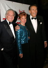 Producer Marty Richards, Mrs. Orbach and Jerry Orbach at the Actor's Fund Annual Gala Dinner and Tribute.