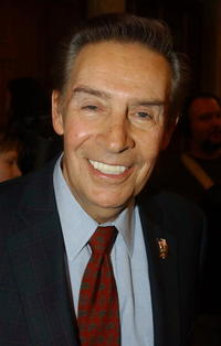 Jerry Orbach at the press conference marking