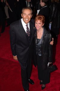 Jerry Orbach and his wife Elaine Cancilla at the premiere of ''Mamma Mia''.