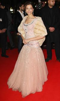 Deepika Padukone at the UK premiere of