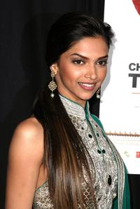 Deepika Padukone at the premiere of