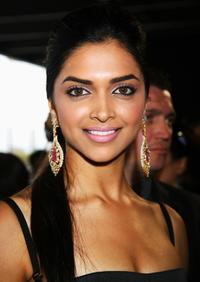 Deepika Padukone at the Zee Cinema Awards 2008.