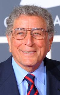 Tony Bennett at the 52nd Annual GRAMMY Awards.