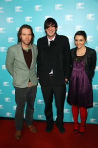 Brendan Cowell, Toby Schmitz and Pia Miranda at the Australian premiere of