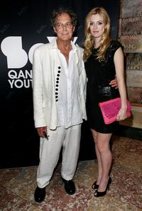 Barry Otto and Gracie Otto at the Qantas Spirit of Youth Awards 2008.