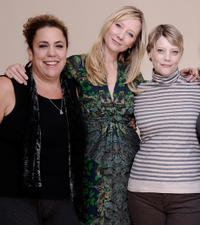 Marcia DeBonis, Anne Heche and Kellie Overbey at the premiere of