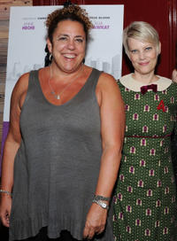 Marcia DeBonis and Kellie Overbey at the New York premiere of
