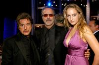 Al Pacino, Jon Avnet and Leelee Sobieski at the 35th afi Life Achievement Award, tribute to Al Pacino.