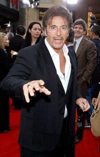 Al Pacino at the Warner Bros. premiere of