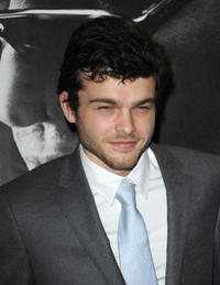 Alden Ehrenreich at the Paris premiere of