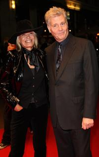 Anita Pallenberg and James Fox at the BFI 51st London Film Festival premiere of