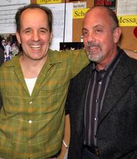 John Pankow and Billy Joel at the premiere of