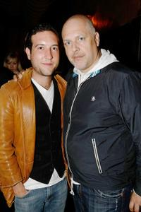 Chris Marquette and Sam Maydew at the after party of the screening of