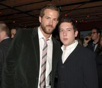 Ryan Reynolds and Chris Marquette at the after party of the premiere of