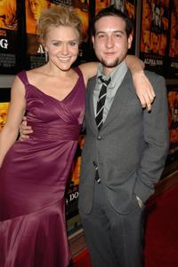 Dominique Swain and Chris Marquette at the premiere of