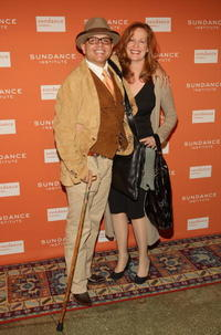 Joe Pantoliano and Nancy Sheppard at the 2008 Sundance Gala Fundraiser.