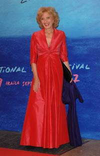 Marisa Paredes at the closing Ceremony of 55th San Sebastian International Film Festival.