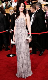 Mary-Louise Parker at the 12th Annual Screen Actors Guild Awards in L.A.