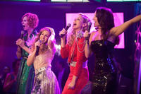 Cynthia Nixon as Miranda Hobbes, Sarah Jessica Parker as Carrie Bradshaw, Kim Cattrall as Samantha Jones and Kristin Davis as Charlotte York-Goldenblatt in