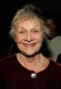 Estelle Parsons at the world premiere of