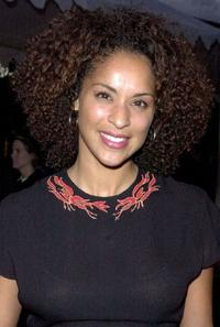 Karyn Parsons at the premiere of