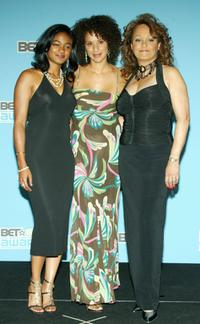 Tatyana Ali, Karyn Parsons and Daphne Reid at the BET Awards 05.