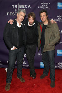 Chris Caniglia, Joshua Leonard and Ross Partridge at the New York premiere of