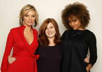 Nichole Hiltz, Stefanie Black and Hayley Marie Norman at the 2008 Sundance Film Festival.