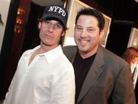 Adrian Pasdar and Greg Grundberg at the premiere screening of
