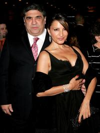 Vincent Pastore and Kathrine Narducci at the play opening night of