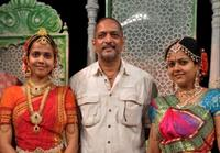 Nana Patekar and Guests at the rehearsal for the Gujarati play