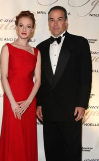 Gillian Murphy and Mandy Patinkin at the 2009 Princess Grace Awards Gala.